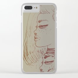 Two-Faced Clear iPhone Case