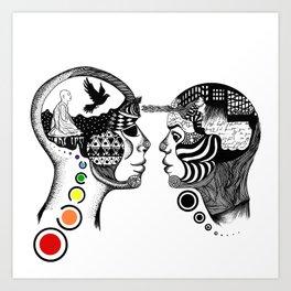 [lux aeterna] Art Print
