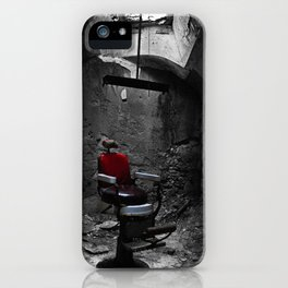 Barber Shop iPhone Case