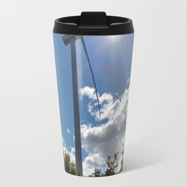 Wind Farm in the Sun Travel Mug