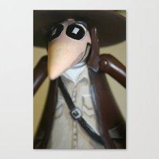 Adventure Spy Canvas Print