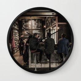 Market Cafe Wall Clock