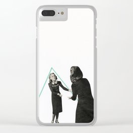 Parallel Worlds Clear iPhone Case