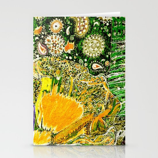 Jardin 2 Stationery Cards