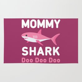 Mommy Shark Rug