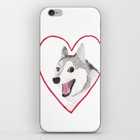 valentine iPhone & iPod Skins featuring Valentine by okayleigh