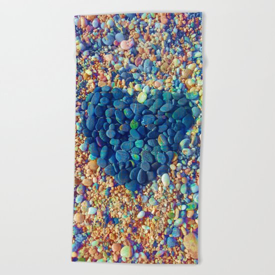 Hard Heart / 19-08-16 Beach Towel