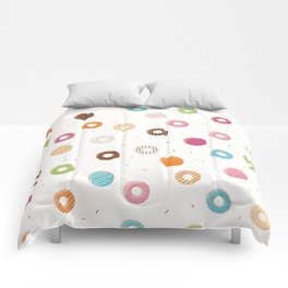 Donut pattern 004 Comforters