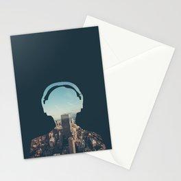 New York, New York Headset Stationery Cards