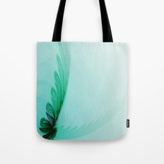 With Brave Wings She Flies Tote Bag