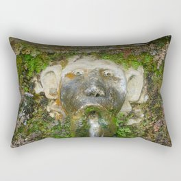 Villa Deste Tivoli Italy Rectangular Pillow