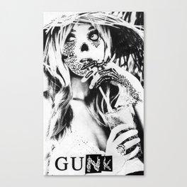 GUNK GIRL #1 Canvas Print