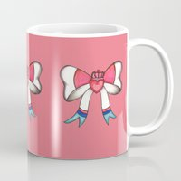 sylveon Mugs featuring Sylveon Princess by Papa-Paparazzi