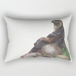 The Majestic Otter Rectangular Pillow