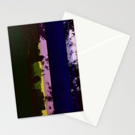 Paris and glitch Stationery Cards