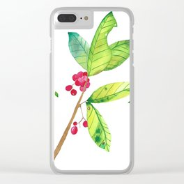 Spring 1 Clear iPhone Case