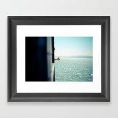 Staten Island Ferry  Framed Art Print