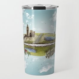 """Merlin- """"Two Sides of the Same Coin"""" Travel Mug"""