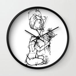 Lifted Wall Clock