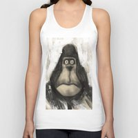 ape Tank Tops featuring mr. Ape by mystudio69