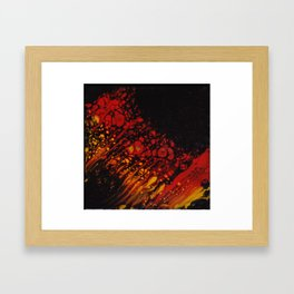 Firestorm Framed Art Print