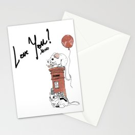 """Love You!"" Stationery Cards"