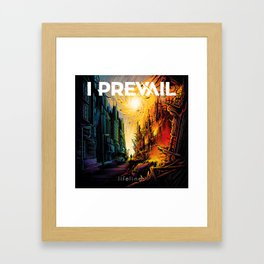 i prevail lifelines tour 2019 kripton Framed Art Print