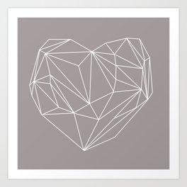Heart Graphic Art Print