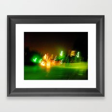 Austin Lights Framed Art Print
