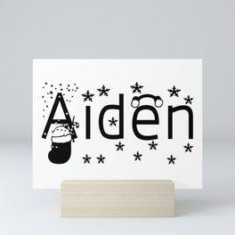 Aiden Mini Art Print
