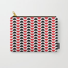 Half-Circle Pattern Carry-All Pouch