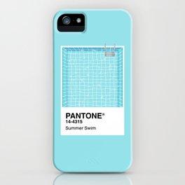 Pantone Series – Summer Swim iPhone Case