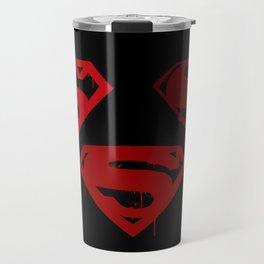 Three Supermen Travel Mug