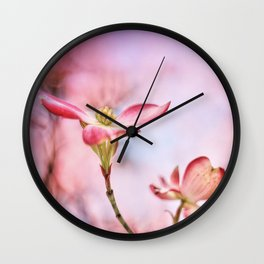 Pink Lady Wall Clock