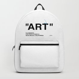 """ART"" Backpack"
