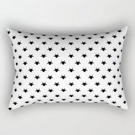 patter goat black Rectangular Pillow