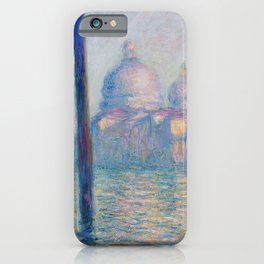 Le Grand Canal by Claude Monet iPhone Case