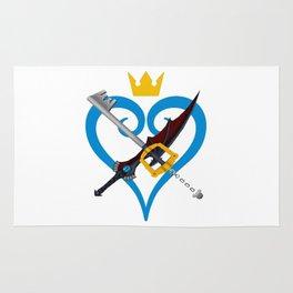 Kingdom Hearts キングダム ハーツ Keyblade Sora and Riku Rug