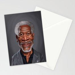 Celebrity Sunday ~ Morgan Freeman Stationery Cards