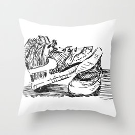 The Nikes Throw Pillow