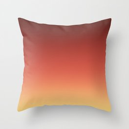 Black red and yellow blurred background . Throw Pillow
