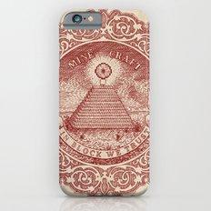 In Block We Trust (Red) iPhone 6s Slim Case