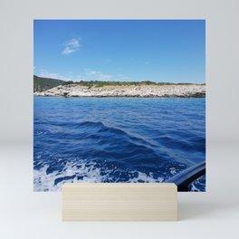 Beach Vacation Wonderful Wave Mini Art Print