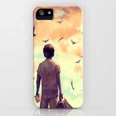 Enjoy the silence iPhone (5, 5s) Slim Case