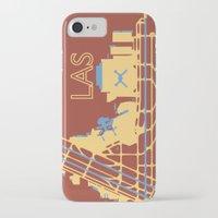 las vegas iPhone & iPod Cases featuring Las Vegas (LAS) - Desert by Kyle Rodgers