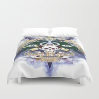 logo Duvet Covers featuring logo by Alexandr Nishikin