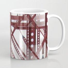 Red Steel Construction Coffee Mug