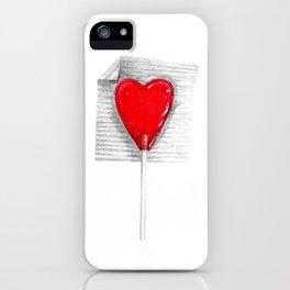 Lollipop Heart iPhone Case
