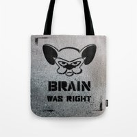 political Tote Bags featuring Getting Political by Cowabunga