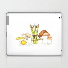 asparagus and mushrooms Laptop & iPad Skin